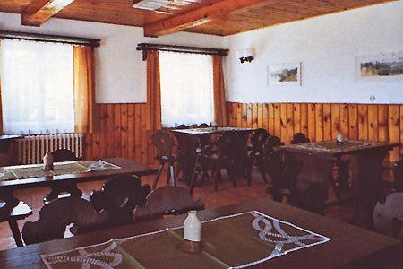 Šumava penziony - Penzion v Srní na Šumavě - restaurace